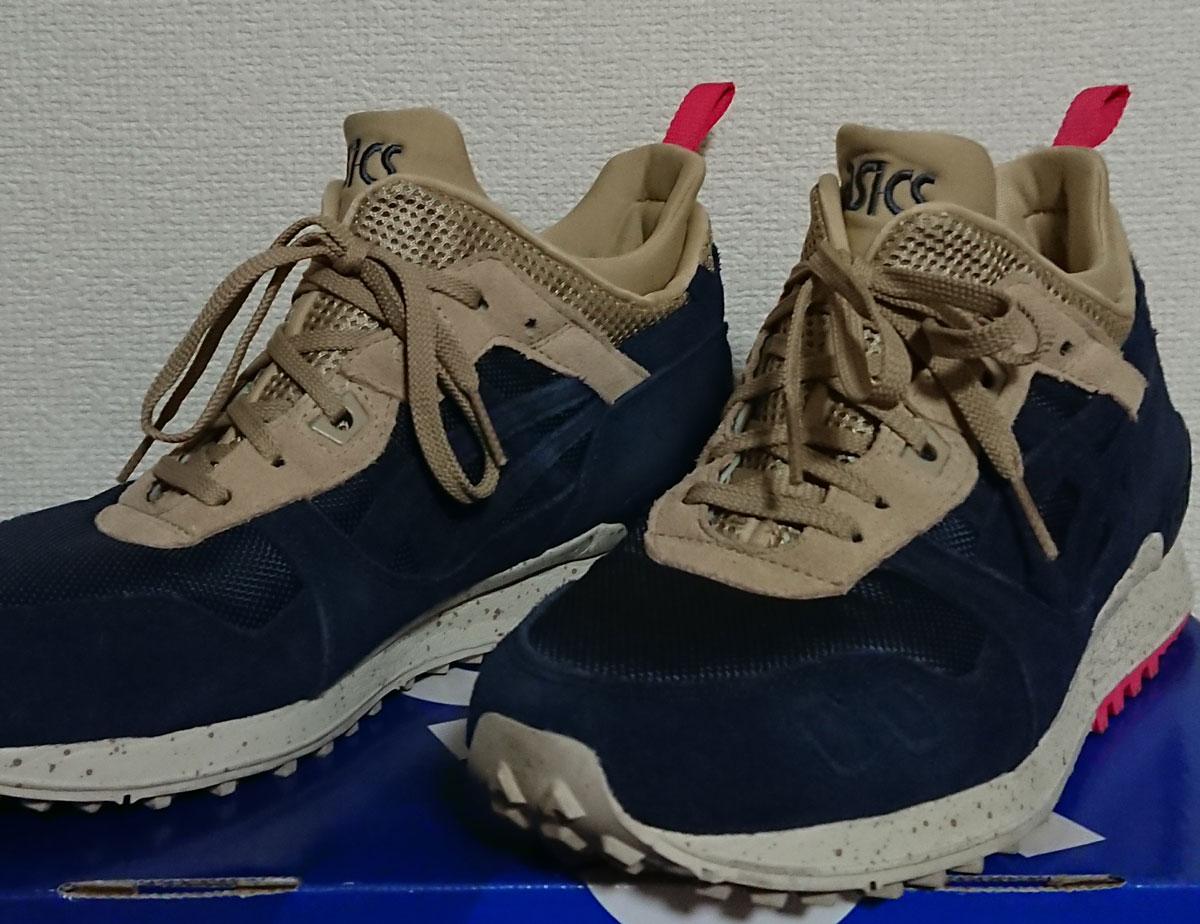 冬靴?アシックスgel-lyte(ゲルライト)MT レビュー