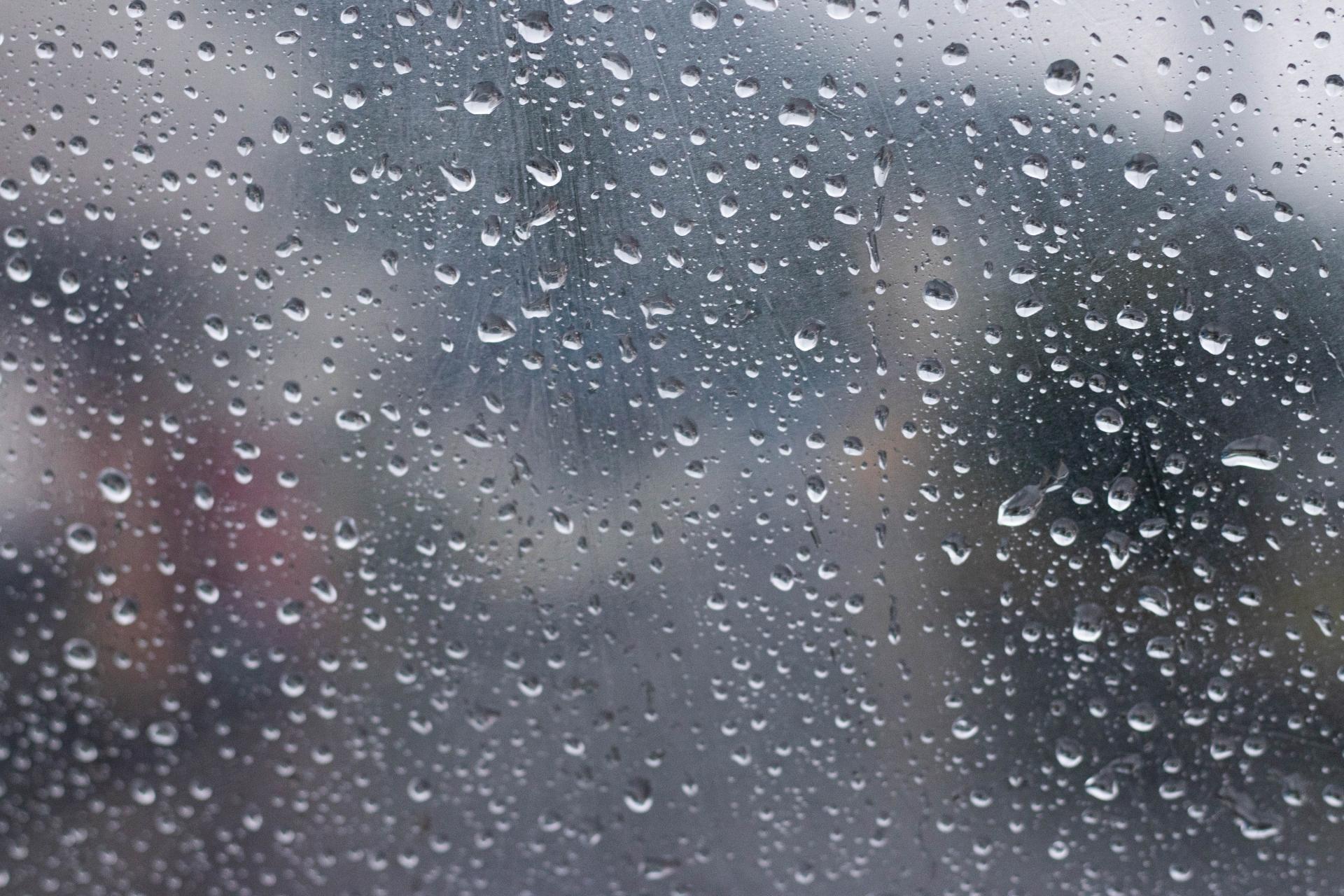 雨の日のスニーカー