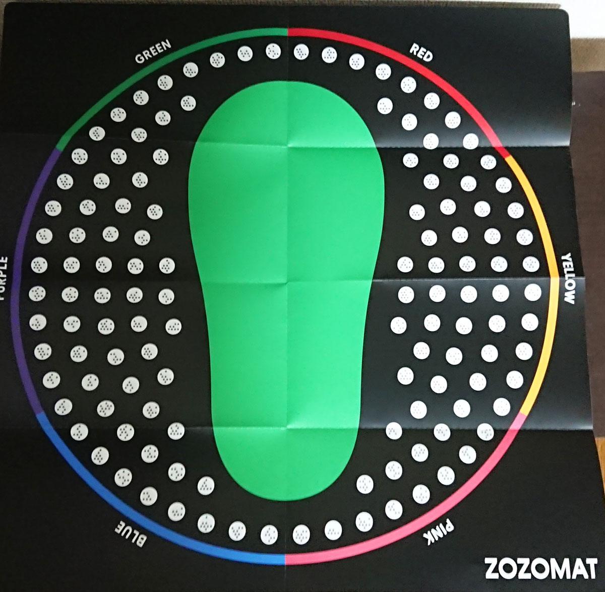 【認識しない?原因は】ZOZOMATを試したレビュー【精度、問題点、使い方】
