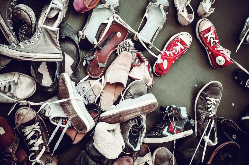 足と靴の臭い
