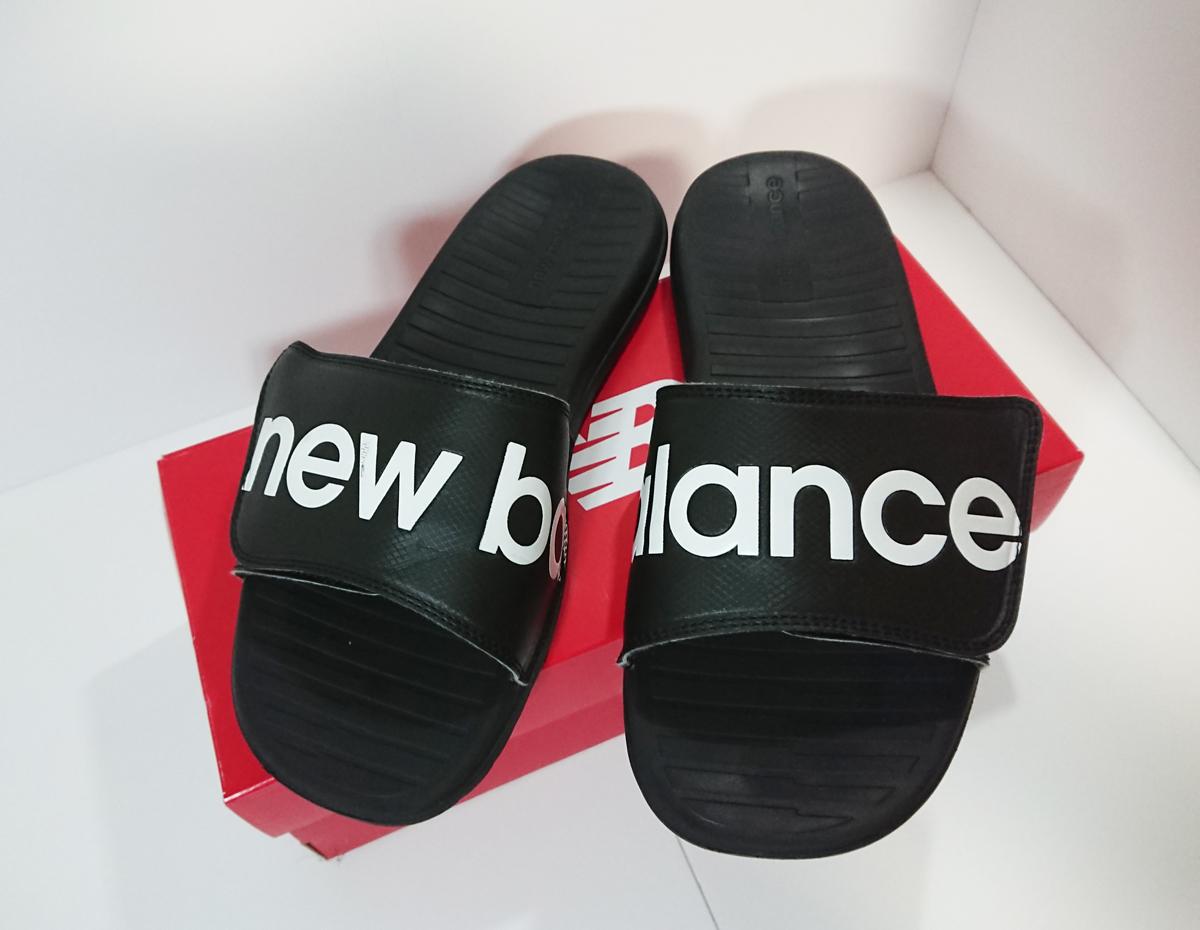 【疲れない】ニューバランスのシャワーサンダルSDL230の履き心地とサイズ感のレビュー