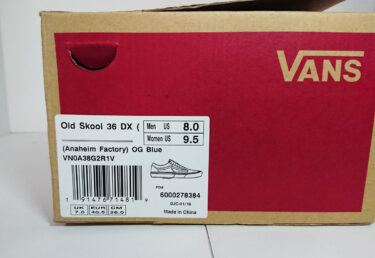 【海外?国内?vault?ダサい?】ヴァンズの企画、表記の違い